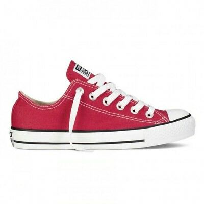 converse all star uomo rosse