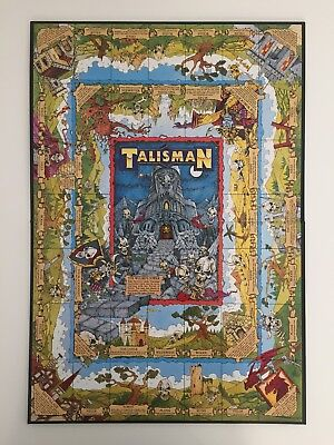 Talisman Third Edition Board Section Only Board Game 1994