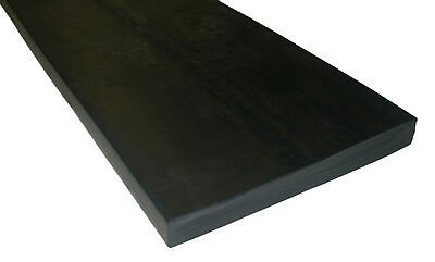 Heavy Duty - Yard Scraper Rubber Replacement Blades - Abrasion Resistant Rubber