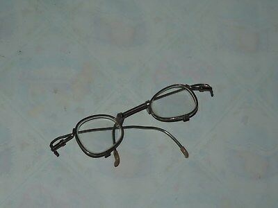 Vintage Military Issue Eye Glasses for Gas Mask Inserts Use WWII US Army (h515)