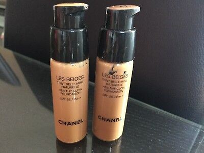 Chanel les beige teint belle mine 2x20 ml caramel 91,121