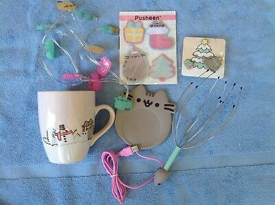 Pusheen The Cat Holiday Collection-6 New Unopened Collectables-Sold Out