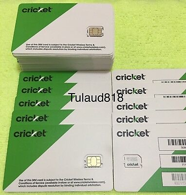 ⭕️ Cricket ⭕️ ___  Nano ____ Sim Card ____ 🔵 new service // replacement 🔵 NEW