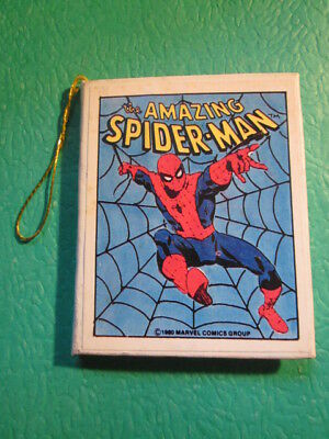 Vtg Amazing SpiderMan Mini Book1980- Origin of the Amazing Spiderman 12 pages