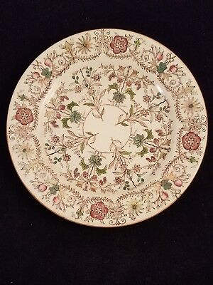 """Royal Premium T&R Boote England Lahore 8"""" Plate"""