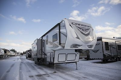 Carbon 417 Toy Hauler Fifth Wheel Camper RV Last One Must Go Buy Now and Save