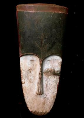 Beautiful   Tribal Fang   Mask  ---  Gabon