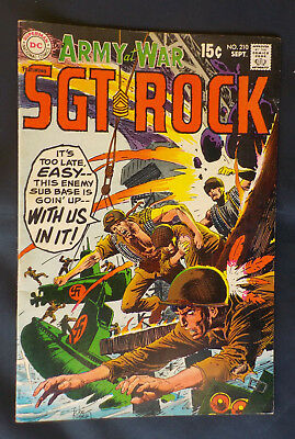Our Army at War #210 ! DC 1969 !  RUSS HEATH SGT ROCK ! NICE ! hayfamzone