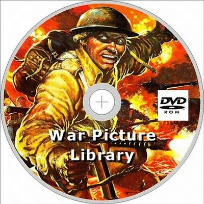War Picture Library Comic on dvd rom, Issues 228, Free P+P