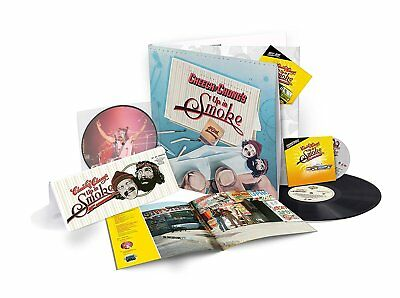 """Cheech & Chong UP IN SMOKE Deluxe Limited Edition NEW VINYL LP +CD +Bluray +7"""""""