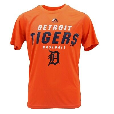 Detroit Tigers MLB Majestic Kids Youth Size Genuine Athletic T-Shirt New Tags