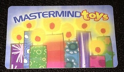 Mastermind Toys Gift Card Happy Birthday Candles No Value Collectible New