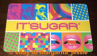 "It'sugar Candy Store Gift Card ""groovy 70's"" No Value Collectible New"