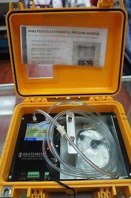 Abatement Technologies Portable Differential Pressure Monitor Model PPM3