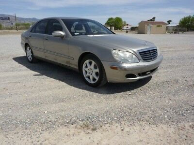 2004 Mercedes-Benz 500-Series  2004 MERCEDES BENZ S500 4MATIC CALIFORNIA CAR 139M VERY CLEAN ORIGINAL CAR