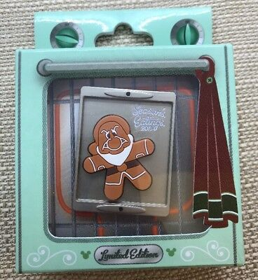 Disney Season's Eatings Gingerbread Pin GRUMPY LE 4500 Snow White NEW 2015