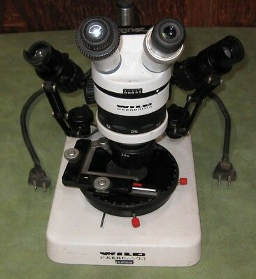 Wild Heerbrugg M5A Stereo Microscope * Made in Switzerland