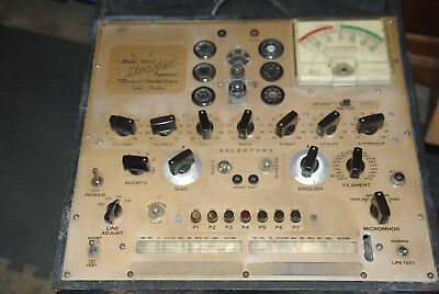 Hickok Model 533A Dynamic Mutual Conductance Vacuum Tube Tester Tested
