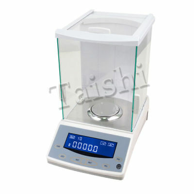 USED 200 / 0.0001g 0.1mg Digital Precision Scale Lab Analytical Balance WITH CE