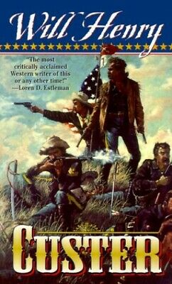 Custer by Will Henry Paperback Book The Cheap Fast Free Post