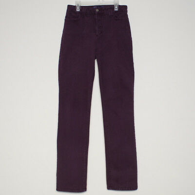 NYDJ Legging Jeans Size 8 Burgundy Red Not Your Daughters Jeans Stretch
