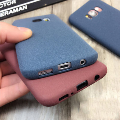 For Samsung Galaxy S9 S7 J5 J7 Ultra-thin Slim Matte Soft Shockproof Case Cover