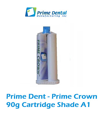 Temporary Crown and Bridge Material 90gm Cartridge  - A1 - Prime Dent 100-104A1
