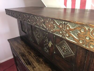 Court Cupboard, Sideboard, Engraved 1611 Reduced Price!