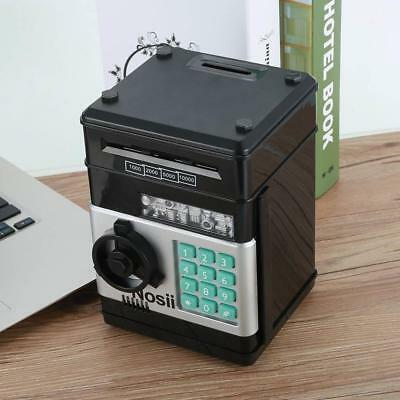 Saving Money Box Atm Bank Cash Machinegift Piggy Bank Safe Coin Note Counter Uk