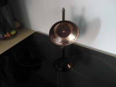 Antique Brass & Copper Candle Reflector