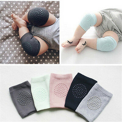 Toddlers Infant Baby Safety Crawling Elbow Knee Pads Cushion Anti-Slip For Child