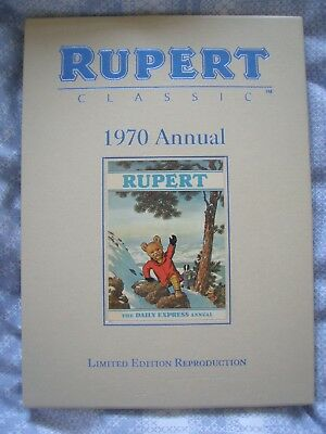 Rupert Annual 1970. Limited Edition Reproduction. Hardback with slip case.
