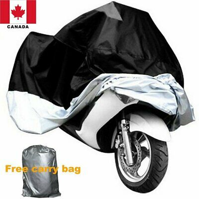 "104"" Large Motorcycle Cover Scooter Rain UV Dust Protector Waterproof Canada"