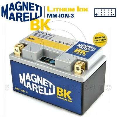 Batteria Magneti Marelli Litio Mm-Ion-3 Ytz10S-Bs Yamaha Xp T-Max 500 2008