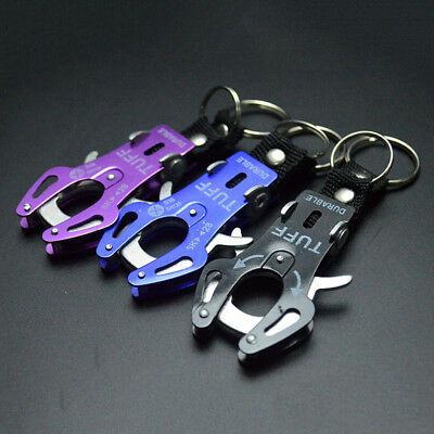 1PCS Carabiner Karabiner Keyring Tool Hiking Camping Sport Snap Hook Useful