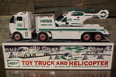 RARE 2006 Hess Toy Truck and Helicopter
