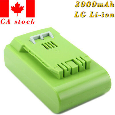 24V 3000mAh G-24 Power Tool / Cordless Lithium Ion Battery for 29842 29852 29322