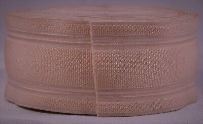 "297g roll of 2"" inch light pink woven elastic (b stock segmented)"