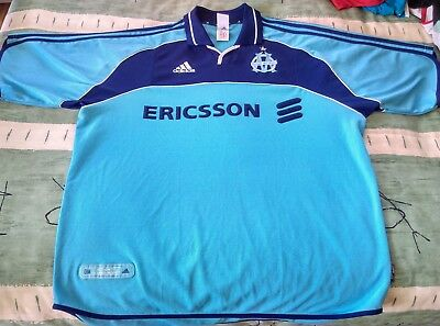 Olympique Marseille Football Club Away Jersey 2000 to 2001 Extra Large Adult