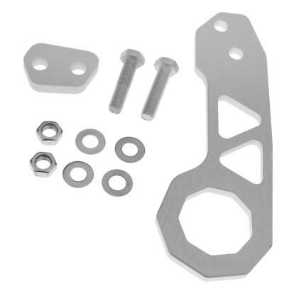 Great Performance Anodized Billet Racing Rear Tow Towing Hook Kit CNC silver