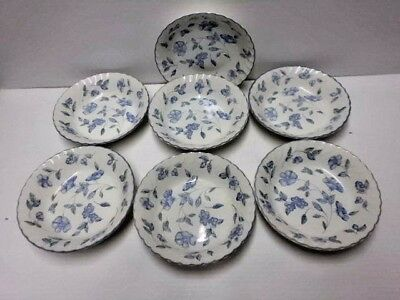 7 x British Home Stores Bristol Blue Cereal Bowls