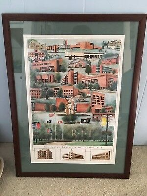 R.i.t Rodchester institute of technology signed picture W@W L@@K