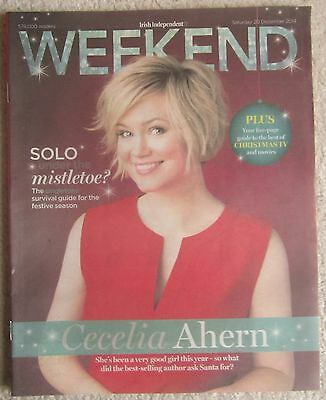 Cecelia Ahern – Irish Independent Weekend magazine – 20 December 2014