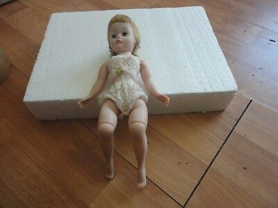 Vintage 1950's Madame Alexander Cissette Fashion Doll in Teddy With Tag