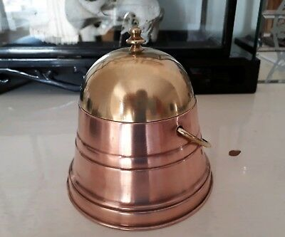 old vintage copper container