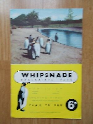 Whipsnade Zoological Park guide - 1960's