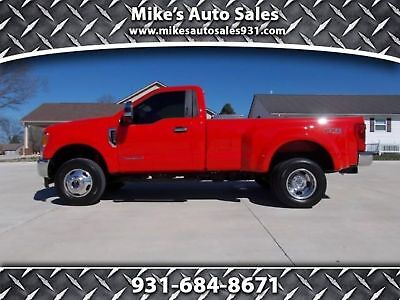 Ford Super Duty F-350 DRW Pickup XLT 2017 FORD F-350 REGULAR CAB DUALLY 4X4! 1 OWNER,LOW MILES! DIESEL, ALL OPTIONS!