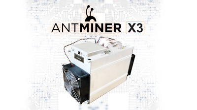 Bitmain Antminer X3 CryptoNight 220 KHs ASIC Miner + PSU