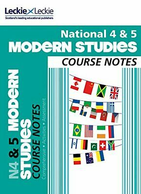 National 4/5 Modern Studies Course Notes (Course Notes f... by Leckie and Leckie