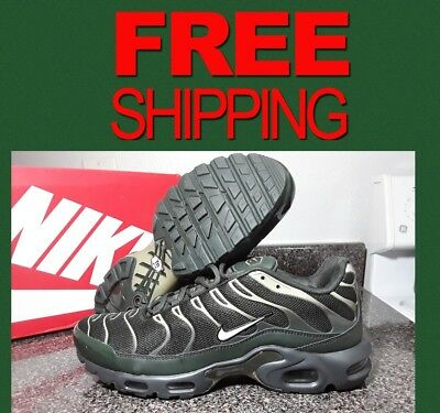 0b59f75ab38 Nike Air Max Plus men running shoe sneakers NEW sequoia white olive 852630- 301